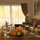 Apartments @ 125 - Continental Breakfast served inside the unit, including Tea, Coffee, Fruit, Yoghurt, Muesli and rusks