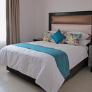 Apartments @ 125 - 2 bedroom unit; second bedroom including double bed