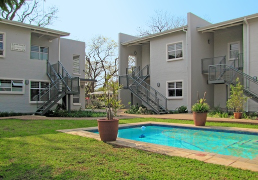 Apartments @ 125 - view of reception, units & pool area