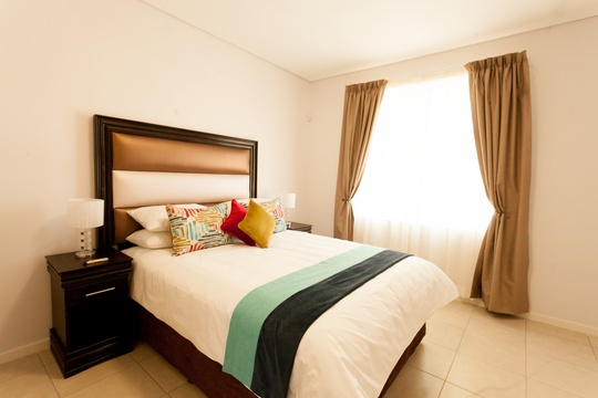 Apartments @ 125 - 1 bedroom unit; bedroom including queen size bed