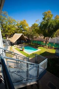 Apartments @ 125 - view of pool from 1st floor